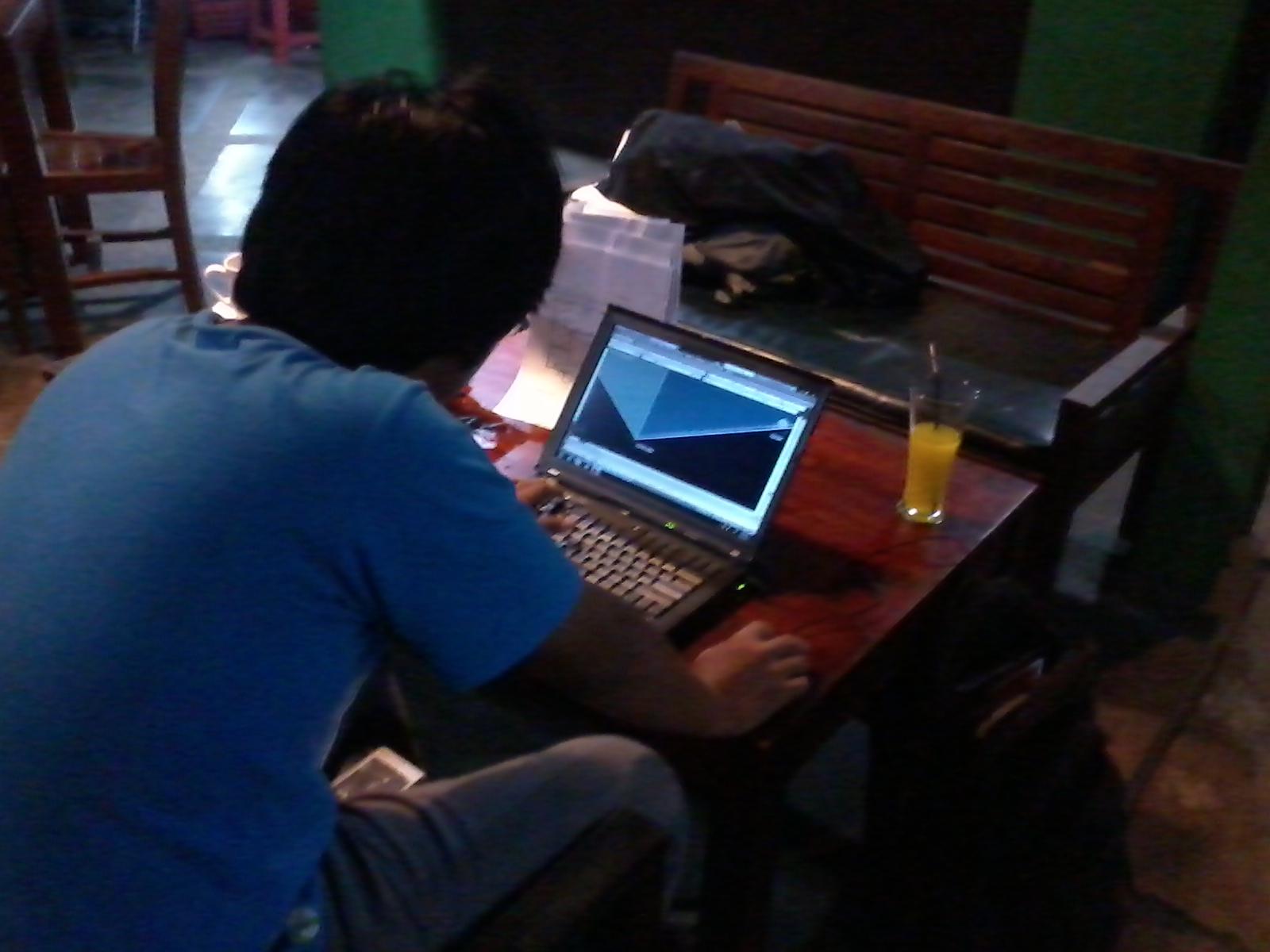 Kursus Private AutoCAD 3D ZOE Cafe Depok