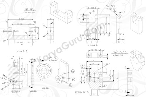 Materi AutoCAD 2D Mechanical Isometri