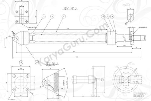 Materi Belajar AutoCAD 2D Mekanikal