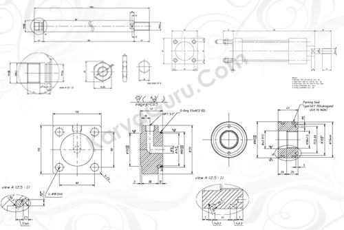 Materi Kursus AutoCAD 2D Mesin