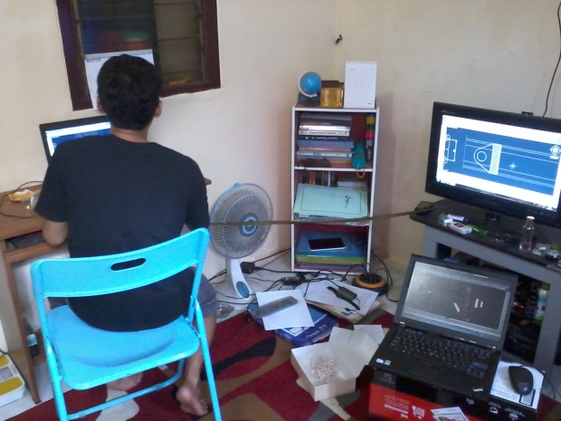 Suasana Kursus Private AutoCAD 2D Mesin