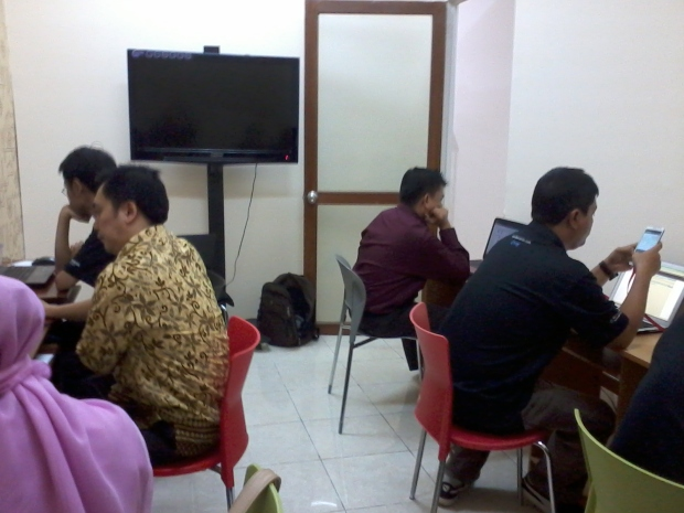 Suasana sesi 2 Autodesk Certification Exam