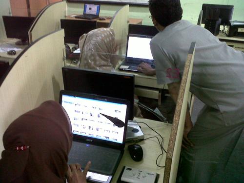 Training web administrator smkn 31 jakarta