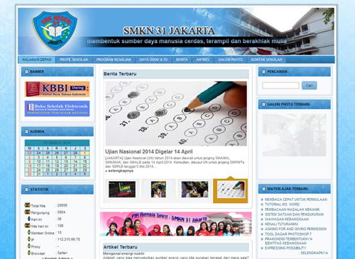 web smkn31 jakarta