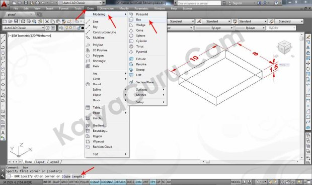 01 Tutorial AutoCAD Pisau Crusher - Box