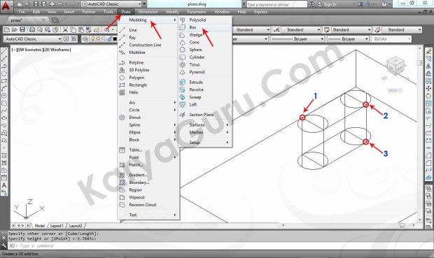 07 Tutorial AutoCAD Pisau Crusher - Box