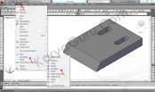 11 Tutorial AutoCAD Pisau Crusher - Visual Style Concept