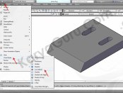 11 Tutorial AutoCAD Pisau Crusher - Visual Style Concept