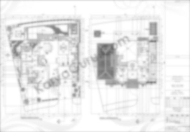 Gambar Kerja AutoCAD Denah 2 Lantai