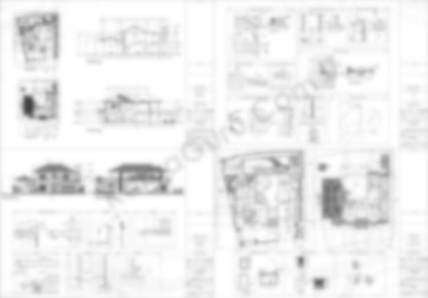 Gambar Kerja AutoCAD Detail Potongan Rumah 2 Lantai