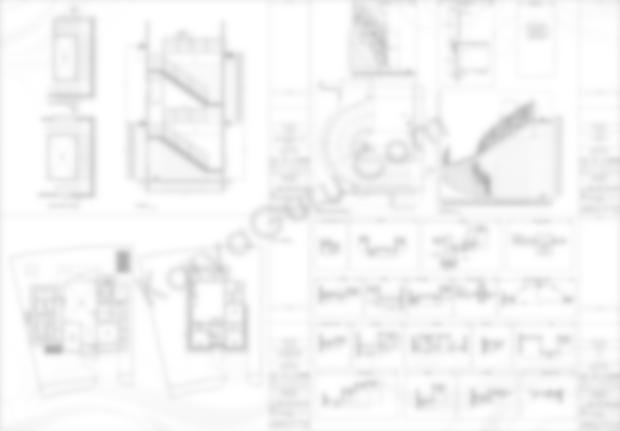 Gambar Kerja AutoCAD Tangga Plafond