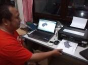 Proses Printing Kursus AutoCAD 3D Mechanical