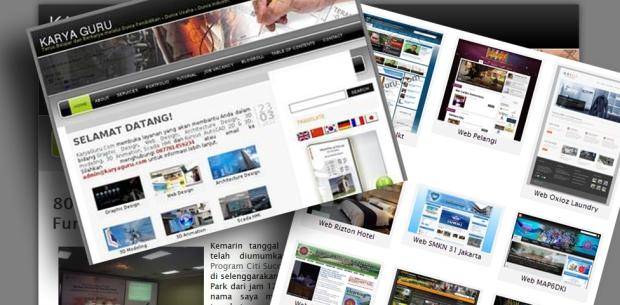 Theme wordpress Web KaryaGuruCenter Lama