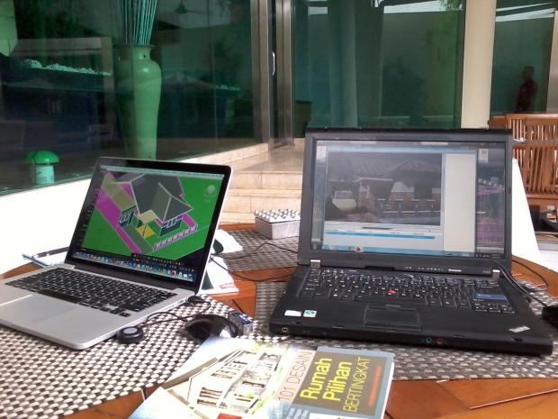 Kursus AutoCAD 3D Arsitektur Hotel Ibis Tamarin