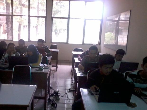 Training AutoCAD 2D 3D Rendering di Politeknik Negeri Jakarta Depok