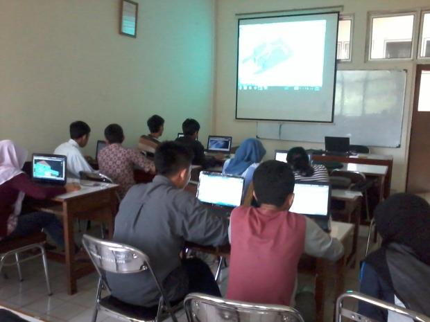 Training AutoCAD 2D 3D Rendering di Politeknik Negeri Jakarta