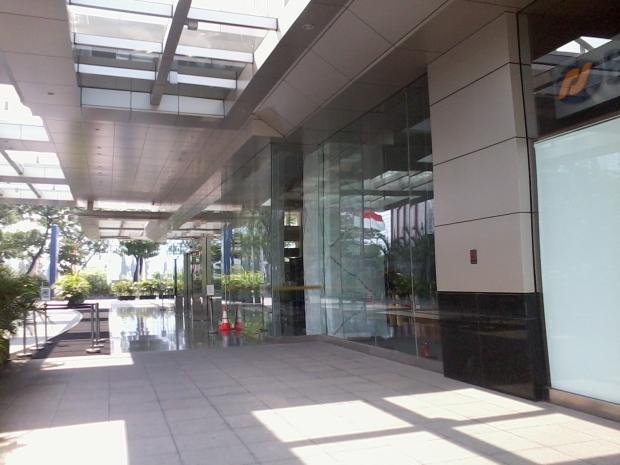 Entrance Equity Tower SCBD Kursus AutoCAD