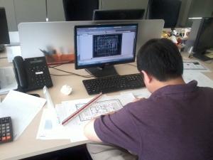 Kursus AutoCAD 2D SCBD Equity Tower