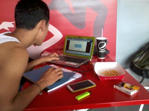 Kursus AutoCAD di KFC Lenteng Agung Laterace