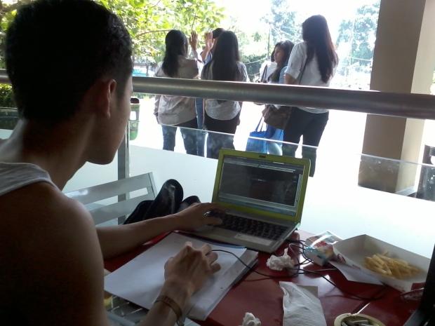 Kursus Private AutoCAD di KFC Lenteng Agung Laterace