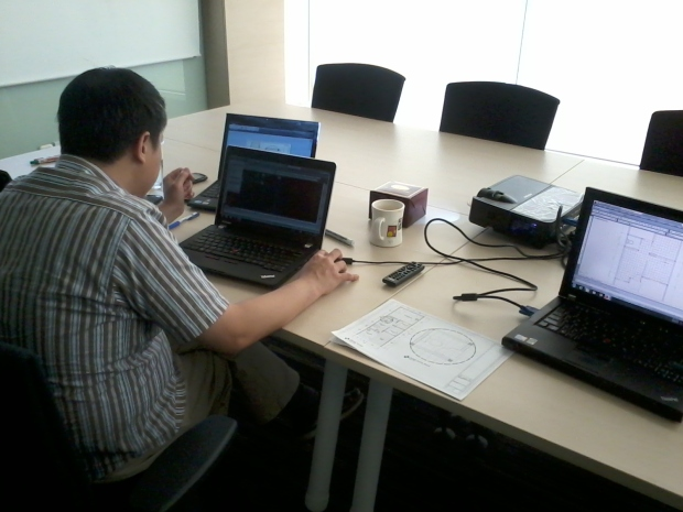 Kursus Private AutoCAD SCBD Equity Tower