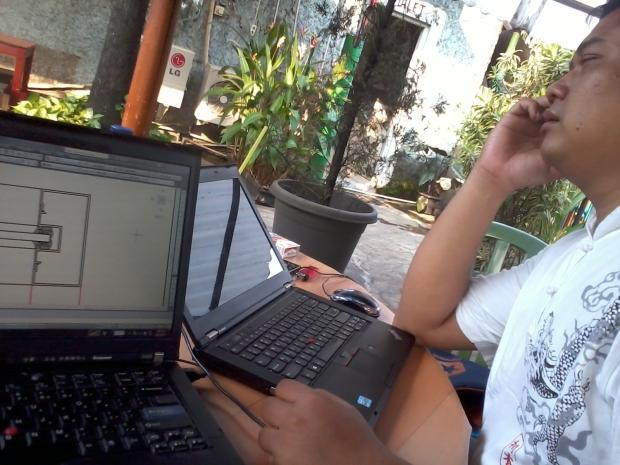Kursus 2D AutoCAD di Papirus Tanjung Barat