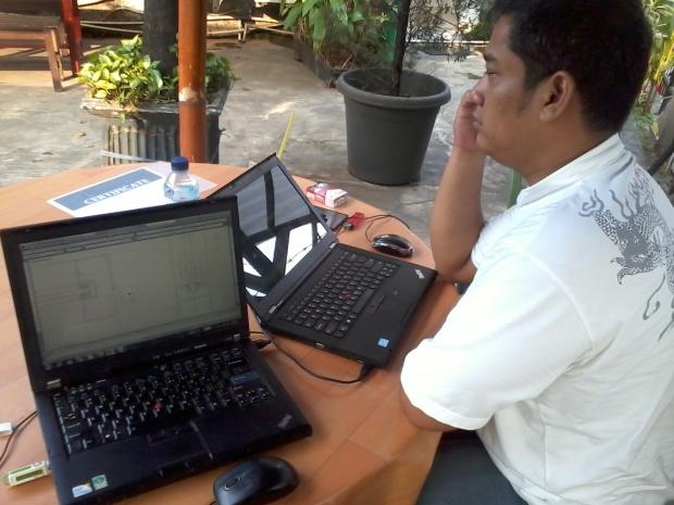 Kursus AutoCAD Outdoor di Papirus Tanjung Barat Jakarta