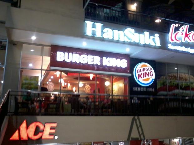 Burger King Tebet Green Jakarta Selatan