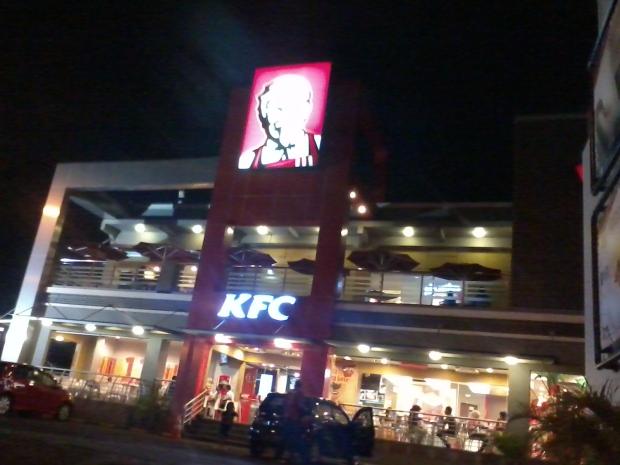 KFC Margonda Depok Malam