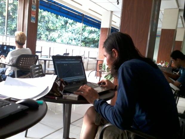 Kursus 2D AutoCAD Outdoor di Indomaret Point Tebet Jakarta Selatan