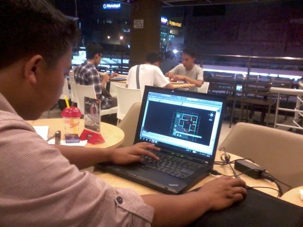 Kursus AutoCAD 2D Arsitektur di KFC Margonda Depok