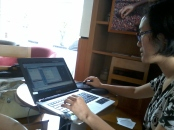 Kursus AutoCAD 2D di StartBucks Coffee Cideng