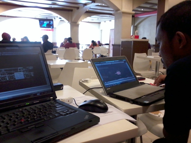 Kursus AutoCAD 2D Rigging McDonald's Tebet Jakarta Selatan