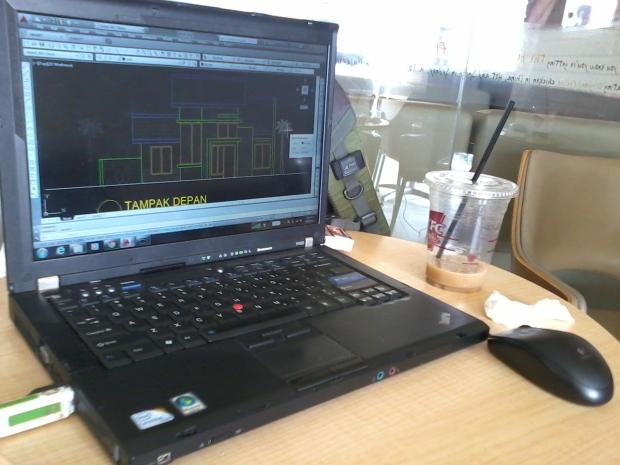 Kursus AutoCAD Arsitektur di KFC Margonda Depok