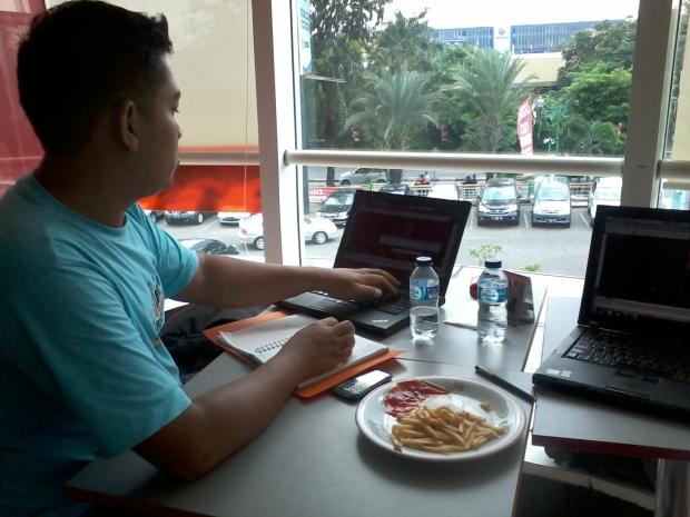 Kursus AutoCAD di KFC Tamini Square Jakarta Timur