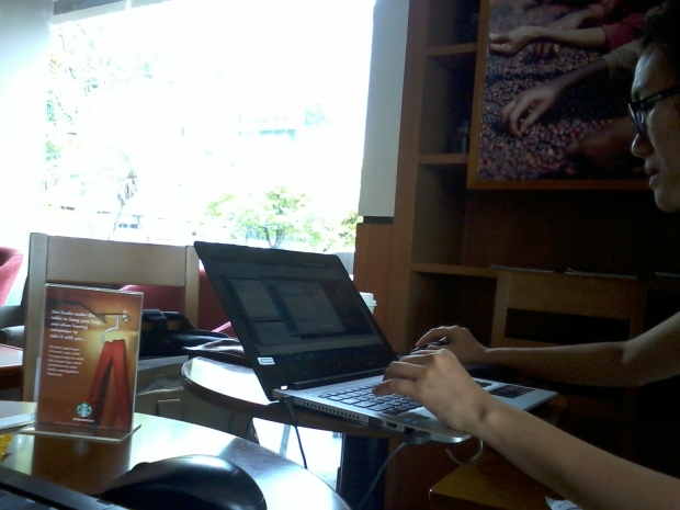 Kursus AutoCAD di StartBucks Coffee Cideng