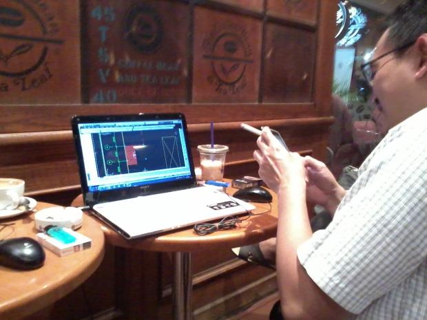 Kursus AutoCAD di The Coffee Bean & Tea Leaf - Plaza Kemang 88 Jakarta Selatan