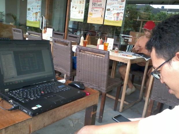 Kursus AutoCAD di Warung Kopi Sruput – Plaza Kemang 88 Jakarta Selatan