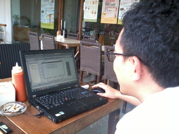 Kursus AutoCAD di Warung Kopi Sruput – Plaza Kemang 88 Jaksel