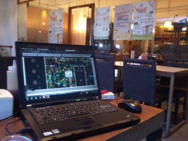 Kursus AutoCAD di Warung Kopi Sruput Plaza Kemang 88 Jaksel