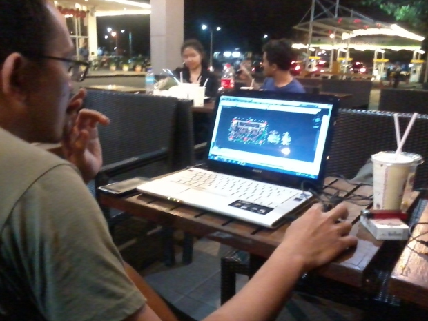 Kursus Private AutoCAD di Burger King- Botani Square Bogor