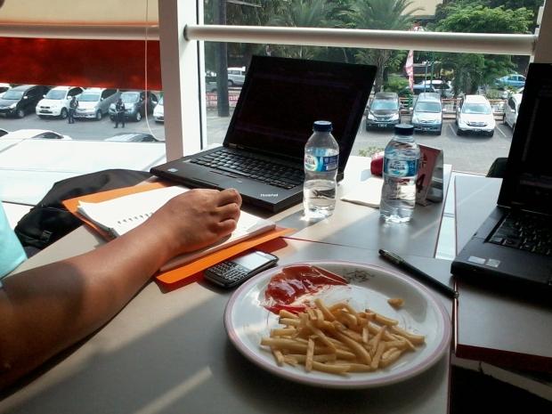 Kursus Private AutoCAD di KFC Tamini Square