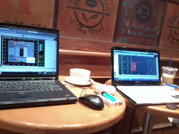 Kursus Private AutoCAD di The Coffee Bean & Tea Leaf - Plaza Kemang 88 JakartaSelatan