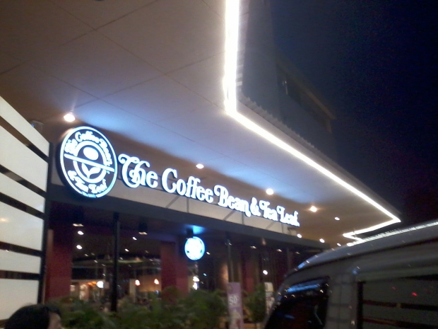 Outdoor Area at The Coffee Bean & Tea Leaf - Botani Square Bogor