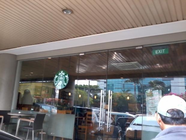 StartBucks Coffee Cideng Jakarta Pusat