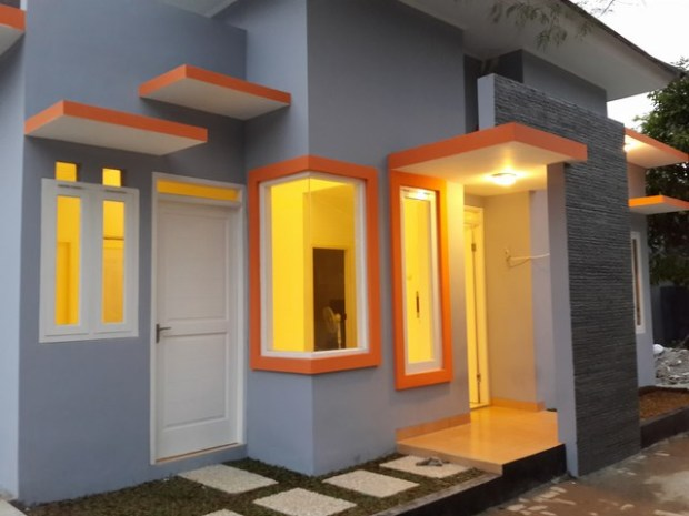 Hasil Gambar Kursus AutoCAD Rumah Minimalis sudah selesai dibangun 1