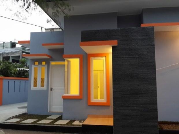 Hasil Gambar Kursus AutoCAD Rumah Minimalis sudah selesai dibangun 3