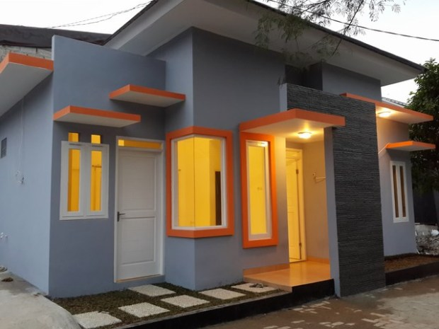 Hasil Gambar Kursus AutoCAD Rumah Minimalis sudah selesai dibangun 5