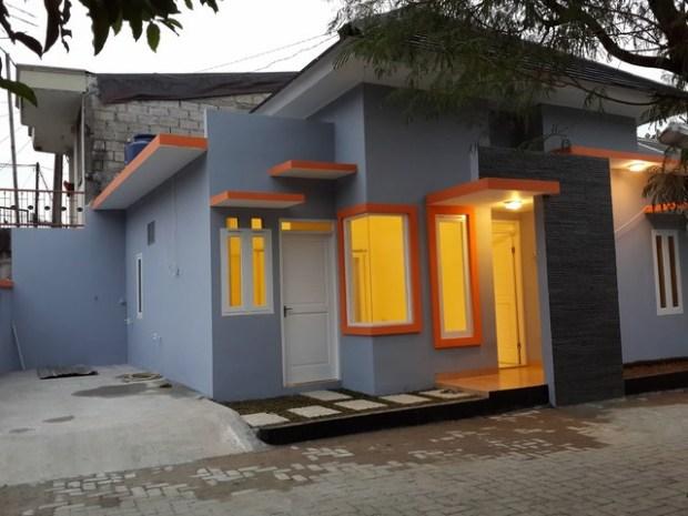 Hasil Gambar Kursus AutoCAD Rumah Minimalis sudah selesai dibangun 6