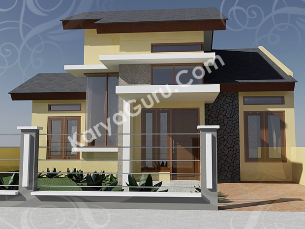 kursus autocad 3d rendering rumah minimalis camera 3